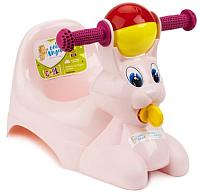 Детский горшок Little Angel Зайчик / 2710 (розовый) -
