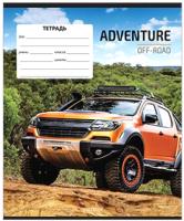 Тетрадь ArtSpace Авто. Off-road adventures / Т12ул_14320 (12л, линейка) -