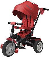 Детский велосипед с ручкой Lorelli Jaguar Air Wheels / 10050390004 (красный) -
