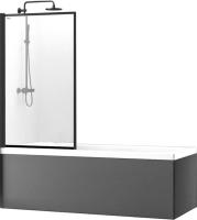 Стеклянная шторка для ванны REA Lagos Fix 80 / REA-K7390 -