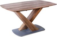 Обеденный стол Седия Adagio 140-180x90x75 (лесной орех) -