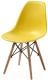 Стул Седия Kord PP (желтый/дерево) -
