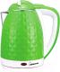 Электрочайник HomeStar HS-1015 (зеленый/белый) -