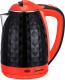 Электрочайник HomeStar HS-1015 (черный/красный) -