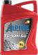 Моторное масло ALPINE TS 10W60 / 0100102 (5л) -