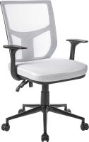 Кресло офисное Mio Tesoro Грейсон AF-C4209 (белый/черный) -