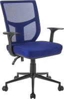 Кресло офисное Mio Tesoro Грейсон AF-C4209 (синий/черный) -