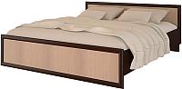 Полуторная кровать Ricco Модерн 140x200 (венге/дуб атланта) -