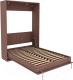 Шкаф-кровать Уют Сервис Гарун К01 (ясень шимо) -