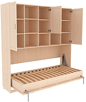 Комплект мебели для спальни Уют Сервис Гарун К03 (молочный дуб) -