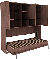 Шкаф-кровать Уют Сервис Гарун К03 (ясень шимо) -