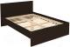 Полуторная кровать Уют Сервис Гарун К14 (венге) -