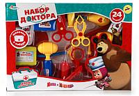 Набор доктора детский Играем вместе Маша и Медведь / A373-H34024-R -