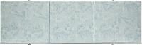 Экран для ванны Comfort Alumin Мрамор голубой 170 -