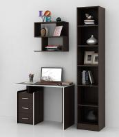 Комплект мебели для кабинета MFMaster Слим УШ-1-03 / Слим-1-03-ВМ-16 (венге) -