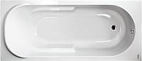 Ванна акриловая Saniteco Isabella 160x75 (с ножками и сифоном) -