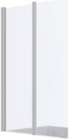 Стеклянная шторка для ванны REA Agat 7202-80 (прозрачное стекло) -