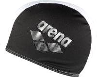 Шапочка для плавания ARENA Polyester II Jr / 002468510 (черный/белый) -