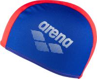 Шапочка для плавания ARENA Polyester II Jr / 002468740 (синий/красный) -