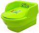 Детский горшок Maltex Трон Мишка и друзья / 5429 (зеленый) -