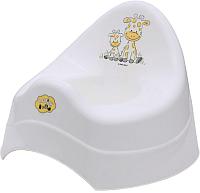Детский горшок Maltex Жираф / 7552 (белый) -