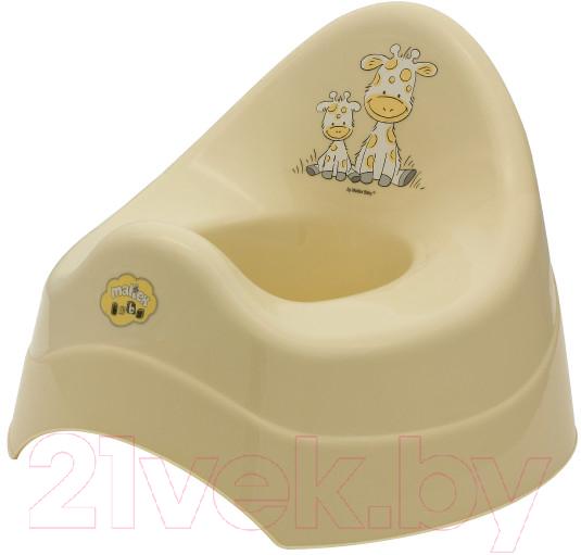 Купить Детский горшок Maltex, Жираф / 7552 (бежевый), Польша, полипропилен