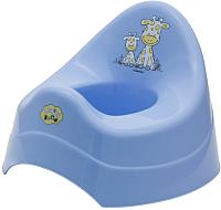Детский горшок Maltex Жираф / 7552 (голубой) -