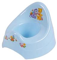 Детский горшок Maltex Кубусь / 1209 (голубой) -