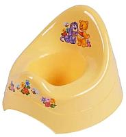 Детский горшок Maltex Кубусь / 1209 (желтый) -