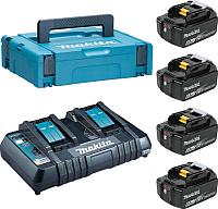 Набор аккумуляторов для электроинструмента Makita DC18RD + BL1860B (198094-8) -