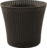 Кашпо Keter Conic (коричневый) -