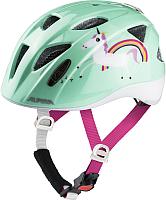 Защитный шлем Alpina Sports Ximo Flash Mint Unicorn / A9710-83 (р-р 47-51) -