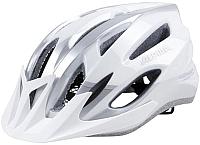 Защитный шлем Alpina Sports MTB 17 / A9719-10 (р-р 58-61, белый/серебристый) -