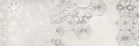 Декоративная плитка Ibero Ceramicas Dec. Debot White A (250x750) -