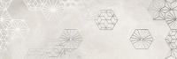 Декоративная плитка Ibero Ceramicas Dec. Debot White B (250x750) -