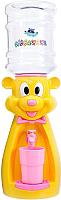 Кулер для воды АкваНяня Мышка / SK40735 (желтый/розовый) -