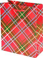 Пакет подарочный deVente Шотландка / 9041792 -