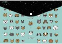 Папка-конверт deVente Cats&Dogs / 3071983 -
