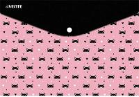 Папка-конверт deVente Love Kitty / 3071978 -