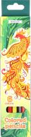 Набор цветных карандашей Darvish Жар-птица / DV-119-6 (6шт) -