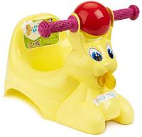 Детский горшок Little Angel Зайчик / 2710 (желтый/пастельный) -