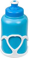 Держатель для фляги велосипедный STG Х95403 (синий/белый) -