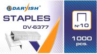 Скобы канцелярские Darvish №10 / DV-6377 -