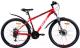 Велосипед AIST Quest Disc 26 2020 (18, красный/черный) -
