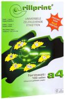 Наклейки для печати Rillprint 89122 -