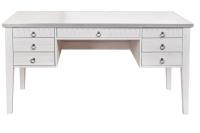 Письменный стол ММЦ Хельсинки 07 (белый воск) -