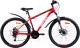 Велосипед AIST Quest Disc 26 2020 (20, красный/черный) -