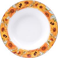 Тарелка столовая глубокая Белбогемия Ван Гог. Подсолнухи RN10096-Z039 / 86263 -
