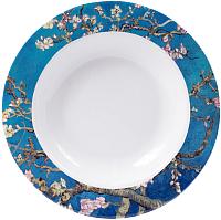Тарелка столовая глубокая Белбогемия Ван Гог. Цветущий миндаль RN10096-Z042 / 86264 -