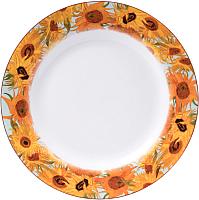 Тарелка столовая мелкая Белбогемия Ван Гог. Подсолнухи RN10093-Z039 / 86269 -